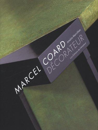 9782859175177: Marcel Coard Décorateur