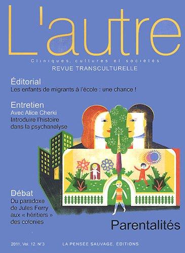 REVUE L'AUTRE T.36; parentalités: Thierry Baudet