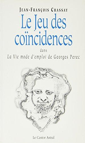 9782859201951: Le jeu des coïncidences dans