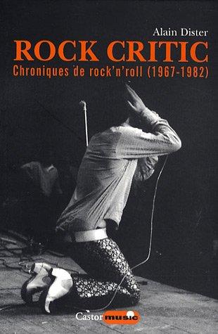 9782859207229: Rock Critic
