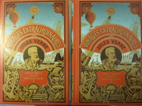 9782859220747: Vingt mille lieues sous les mers - (2 volumes)