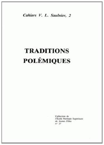 Traditions polemiques: Cazauran