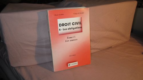 Droit Civil. 4. Les Obligations - 2 Volumes (Tomes 1 Et 2)