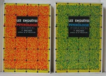 9782859391805: Les enquetes en psychologie (French Edition)