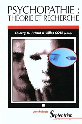 9782859396121: Psychopathie : théorie et recherche