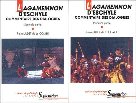 9782859396275: Agamemnon d'Eschyle, 2 volumes