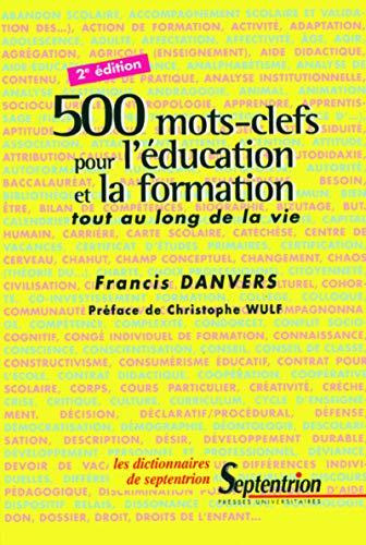 9782859397784: 500 mots-clefs pour l'�ducation et la formation tout au long de la vie. 2�me �dition