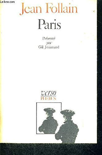9782859400187: Paris (Verso) (French Edition)