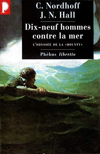 9782859408213: Dix-neuf contre la mer