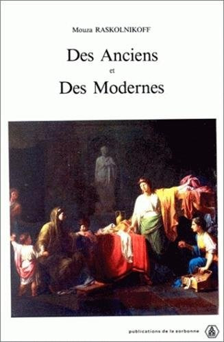 9782859441944: des Anciens et des Modernes