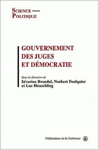 9782859444341: Gouvernement juges et democratie. 3