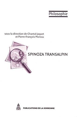 Spinoza transalpin ; les interprétations actuelles en Italie: Chantal Jaquet