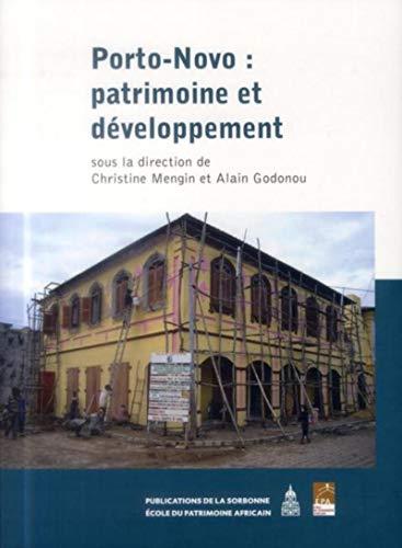 9782859447571: Porto-Novo : patrimoine et développement