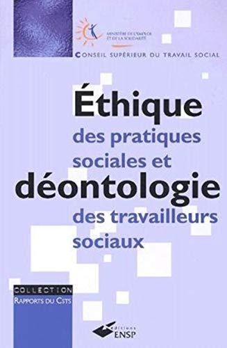 9782859527280: Ethique des pratiques sociales et d�ontologie des travailleurs sociaux