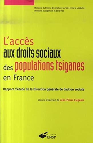"""""""l'accès aux droits sociaux des populations tsiganes en France ; rapport d'&..."""