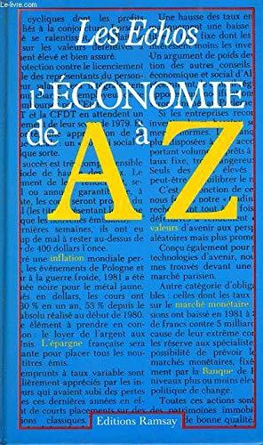 9782859562502: L'Economie de A à Z