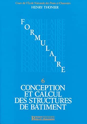 Conception et calcul des structures de bOtiment,: Henry Thonier