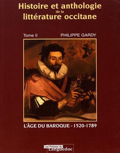9782859981693: histoire et anthologie de la litterature occitane t.2