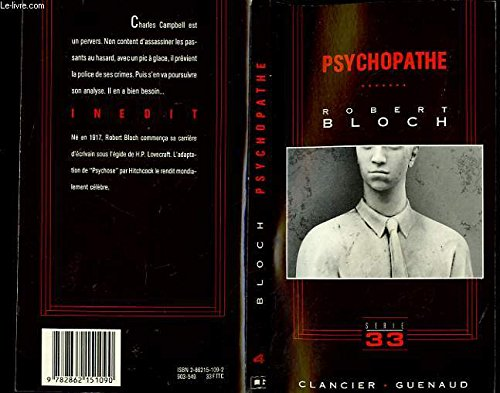 9782862151090: Psychopathe