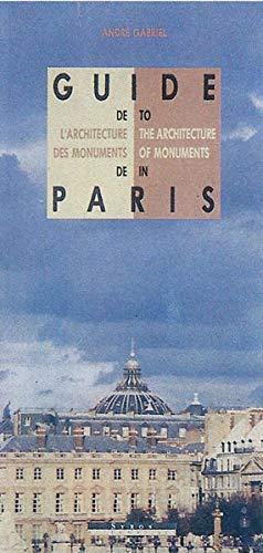 9782862271484: Guide de l'architecture des monuments de Paris