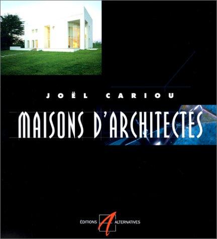 9782862272641: Maisons d'architectes