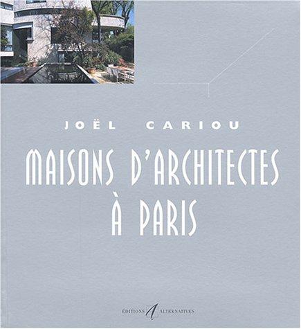 9782862273891: Maisons d'architectes � Paris