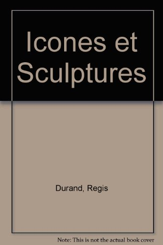 9782862340371: Icônes et sculptures
