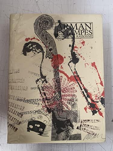9782862340449: Arman, estampes: Catalogue raisonné