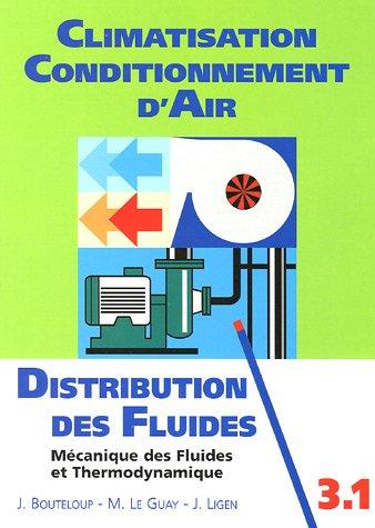 Distribution des fluides : Introduction à la: Jacques Bouteloup