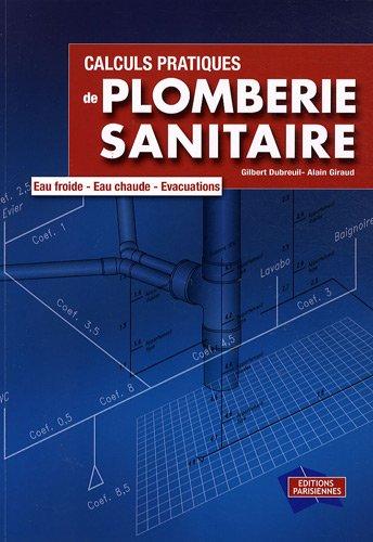9782862430904: calculs pratiques de plomberie sanitaire