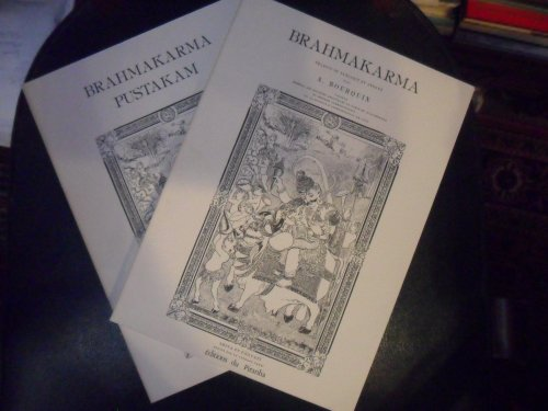 9782862500034: Brahmakarma ou Rites sacrés des brahmanes