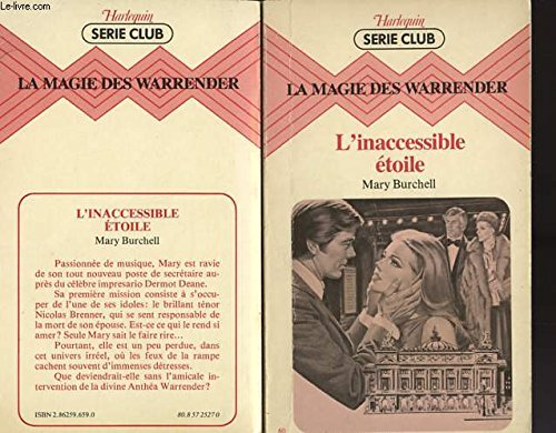 La Magie des Warrender. 7. L'Inaccessible étoile: Burchell, Mary