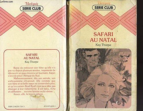 9782862597164: Safari au Natal (Harlequin)