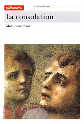 9782862606989: La consolation : Mots pour maux