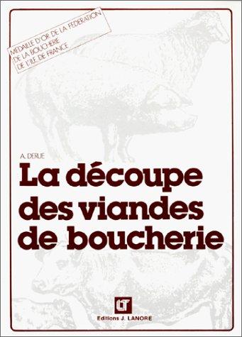 9782862680569: La découpe des viandes de boucherie (Brochure)