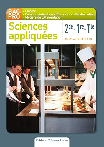 9782862684529: Sciences appliquées 2de/1re/Tle (French Edition)