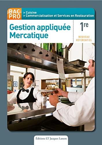 9782862684819: Gestion appliquée mercatique 1e Bac Pro : Csr cuisine