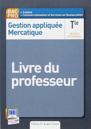 9782862684994: Gestion appliquée mercatique Term Prof