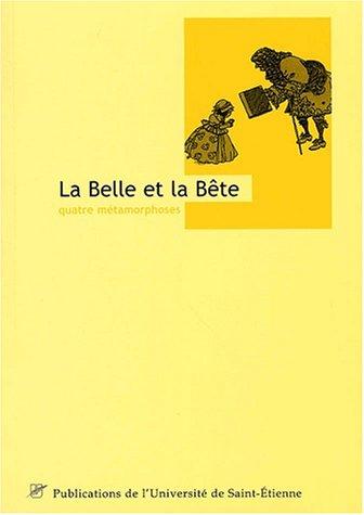9782862722436: La belle et la bête (French Edition)