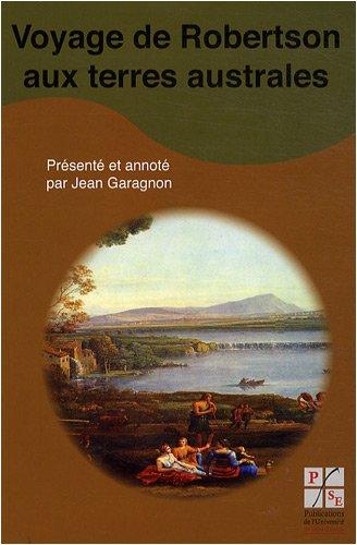 9782862724928: Voyage de Robertson aux terres australes