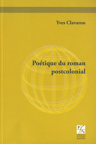 9782862725772: Poétique du roman postcolonial