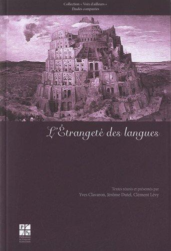 9782862725888: etrangete des langues