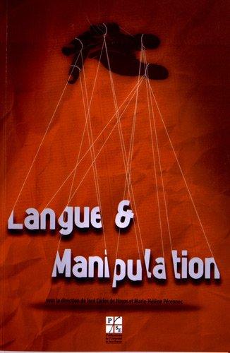 9782862726045: Langue et manipulation