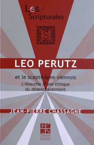 9782862726052: Léo Perutz et le scepticisme viennois : L'ébauche d'une éthique du désenchantement