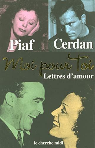 9782862749273: Moi pour toi : Lettres d'amour