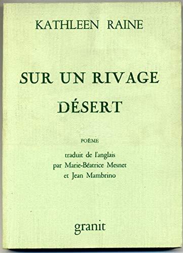 9782862811048: Sur un rivage desert: poème