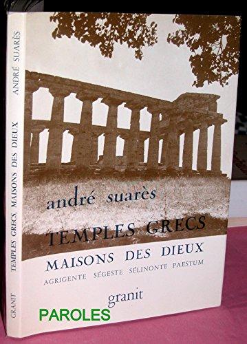 9782862811109: Temples grecs, maisons des dieux