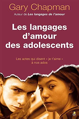 9782863143889: Les langages d'amour des adolescents
