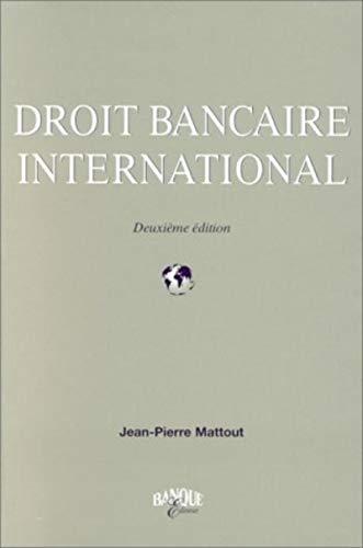 9782863252390: Droit bancaire international