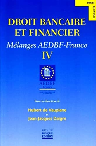 Droit bancaire et financier (French Edition): Hubert de Vauplane